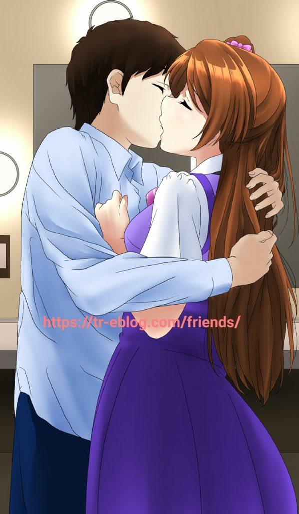 キスしてください
